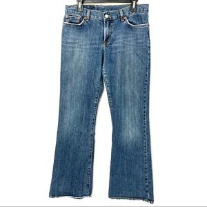 Lucky Brand Peanut Pant Low Rise Jeans Size 12/31